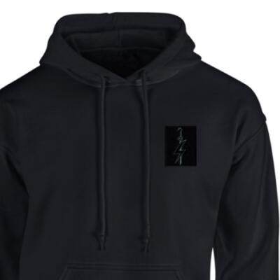 *CLEARANCE* Hoody, Large, Black, SFSG (Black Subdued)