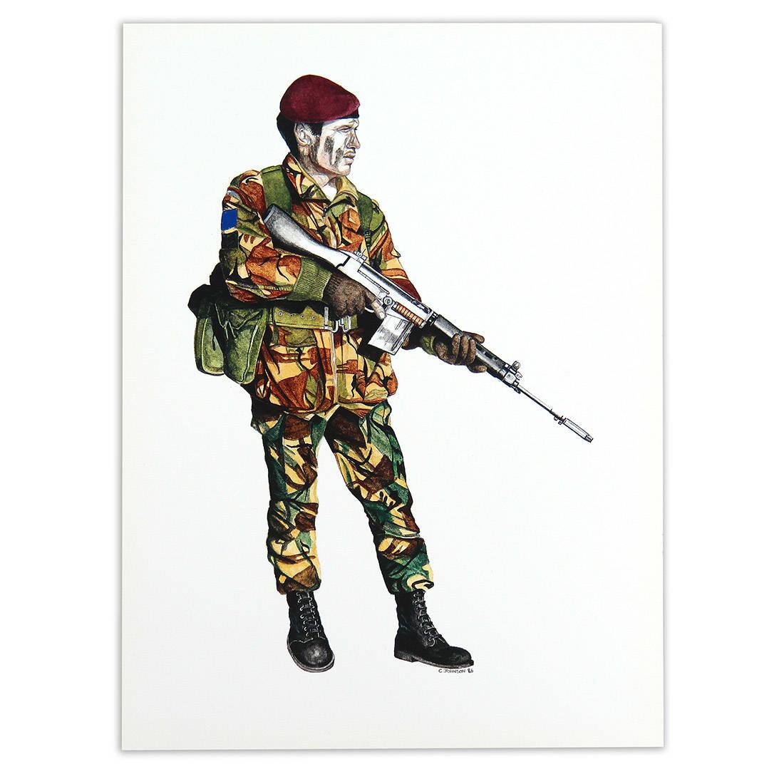 II Para Soldier by Craig Johnson (Print)