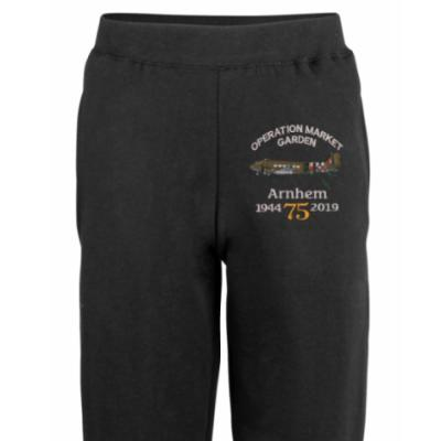 Joggers - Black - Arnhem Dakota 75th