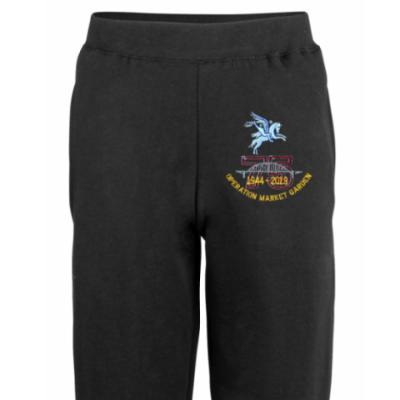 Joggers - Black - Operation Market Garden 75th (Pegasus)
