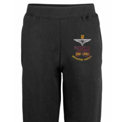 Joggers - Black - Operation Varsity 75th (Para)