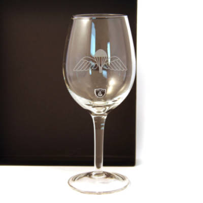 Jump Wings Red Wine Glasses (Pair) In Gift Box