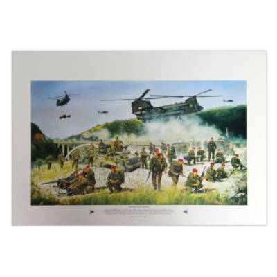 The Kacanik Defile. 5Ab Brigade In Kosovo by David Rowlands (Print)