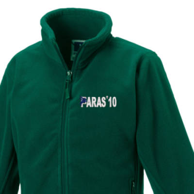 Kids Fleece Jacket - Green - Paras 10