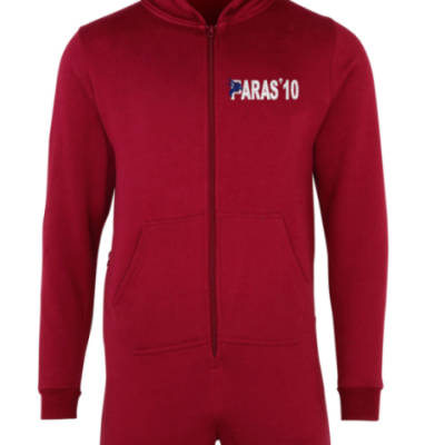 Kids Onesie (All-in-One) - Maroon - Paras 10