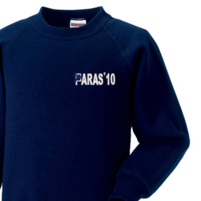 Kids Sweatshirt - Navy - Paras 10