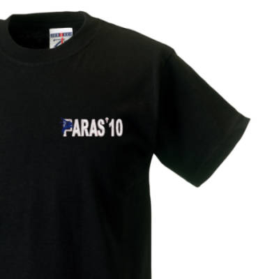 Kids T-Shirt - Black - Paras 10