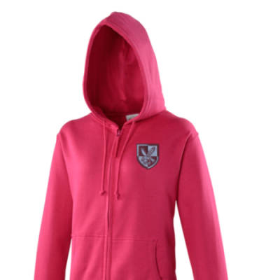Lady's Hoody - Hot Pink - 16 Air Assault
