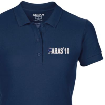 Lady's Polo Shirt - Navy Blue - Paras 10