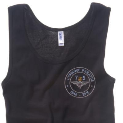 Lady's Vest - Black - Airborne 75 (Para)