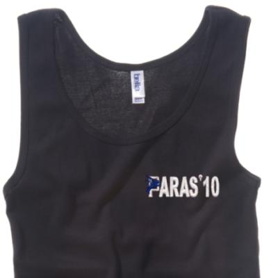 Lady's Vest - Black - Paras 10