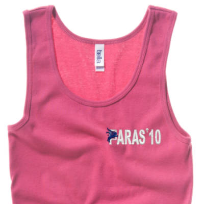 Lady's Vest - Pink - Paras 10
