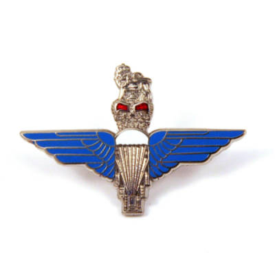 Para Lapel Badge (Blue Wings)