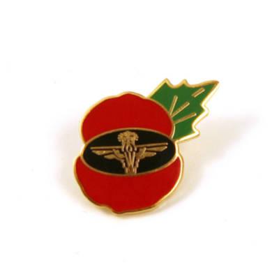 Para Poppy Lapel Badge