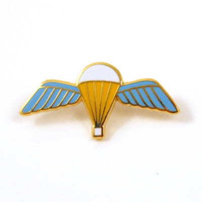 Jump Wings Lapel Badge