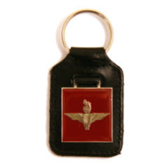 Key Fob (Leather and Enamel)