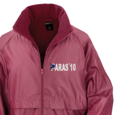 Lightweight Fleece Lined Jacket - Maroon - Paras 10