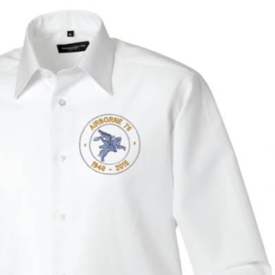Long Sleeved Shirt - White - Airborne 75 (Pegasus)