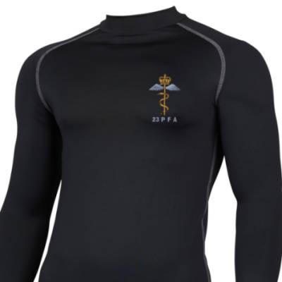 Long Sleeved Thermal Top - Black - 23 PFA