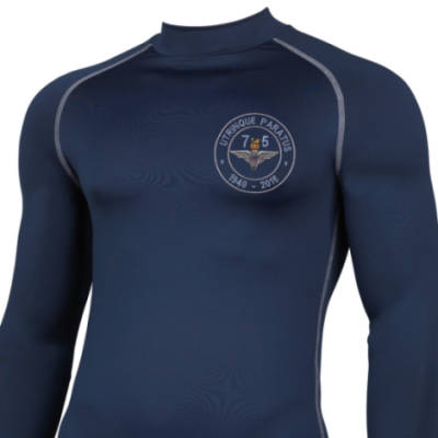 Long Sleeved Thermal Top - Navy - Airborne 75 (Para)