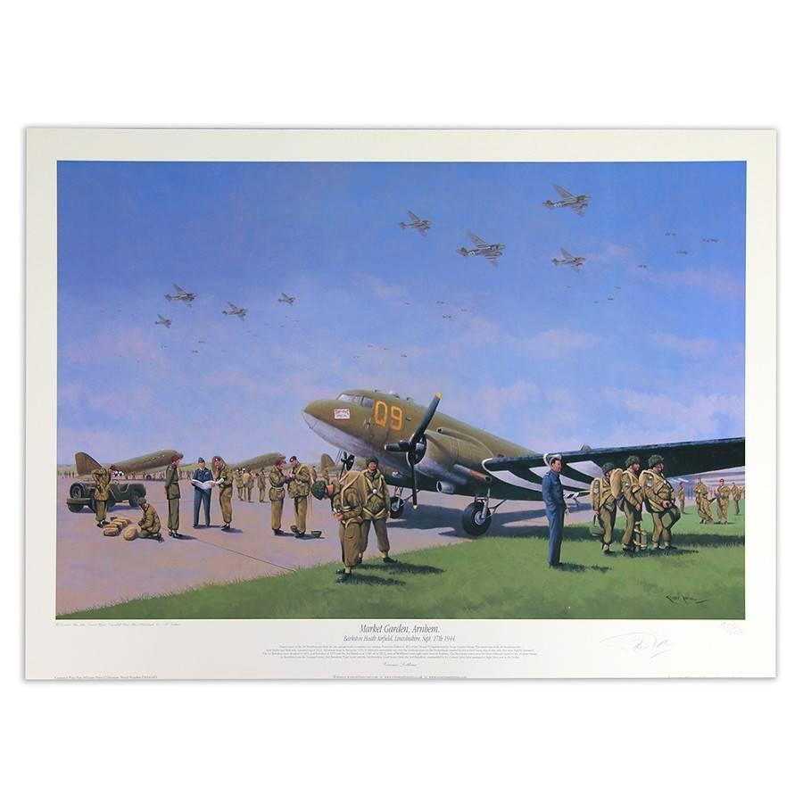 Market Garden Arnhem by Graeme Lothian (Print)