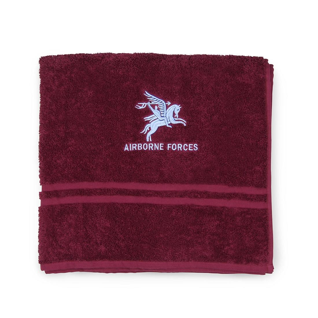 Maroon Bath Towel