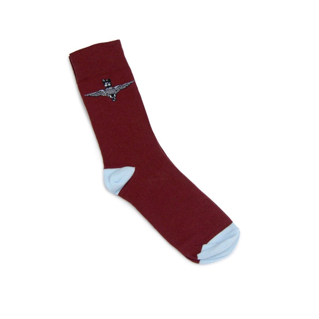 Maroon Parachute Regiment Socks (Short)