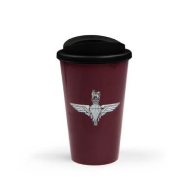 Maroon Thermal Mug - Parachute Regiment