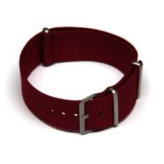 Maroon Watch Strap