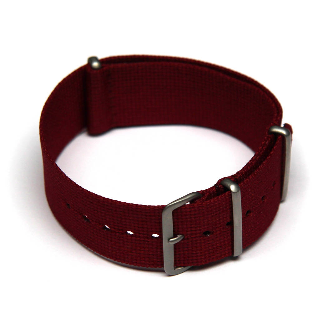 Maroon Watch Strap