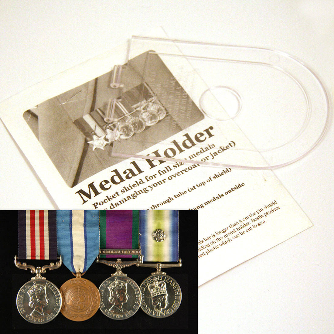 Plastic Medal Holder