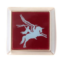 Metal Para or Pegasus Car Badge
