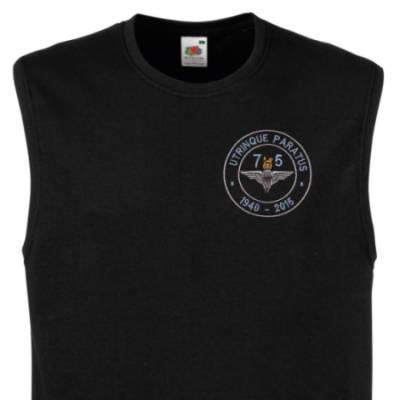 Muscle Tee - Black - Airborne 75 (Para)