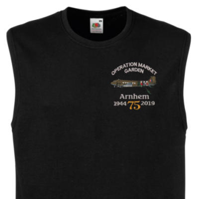 Muscle Tee - Black - Arnhem Dakota 75th