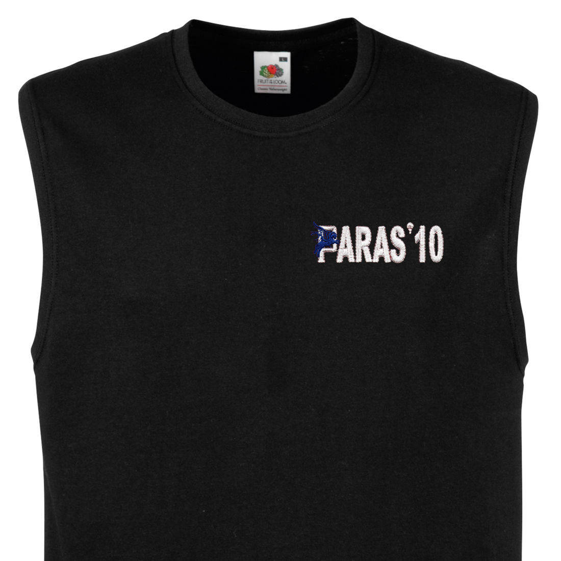Muscle Tee - Black - Paras 10