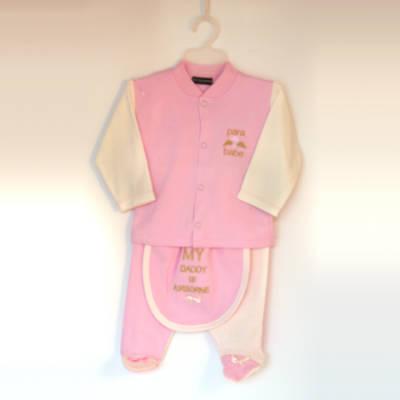 New Born 'Para Babe' Set - Pink