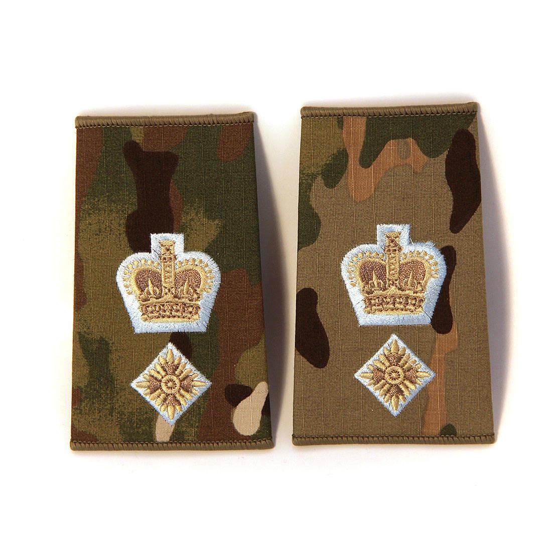 Officer Rank Slide Pairs (Parachute Regiment)