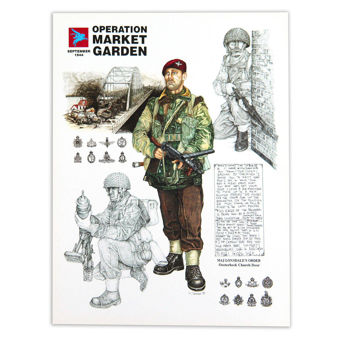 Operation Market Garden By Craig Johnson Print The