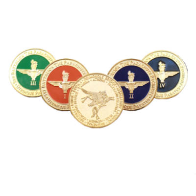 Challenge Coins with Battle Honours