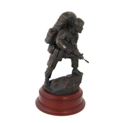 Para Patrol With SA80 Statue (Resin Bronze)