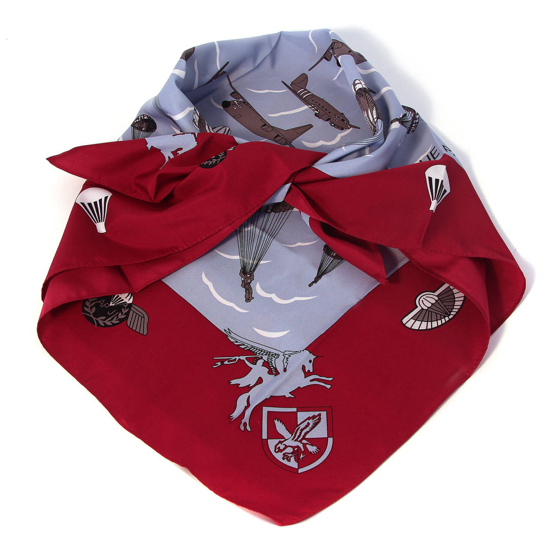 Para Patterned Headscarf