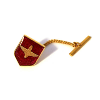 Para Shield Tie Tack or Lapel Pin