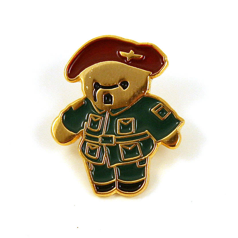 Parachute Regiment Teddy Lapel Badge