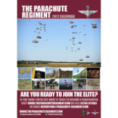 2017 Official Parachute Regiment Calendar