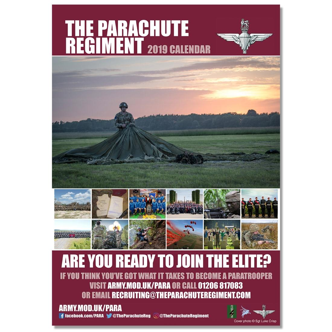 2019 Official Parachute Regiment Calendar