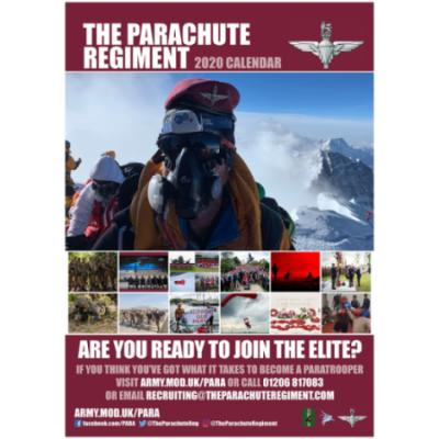 2020 Official Parachute Regiment Calendar