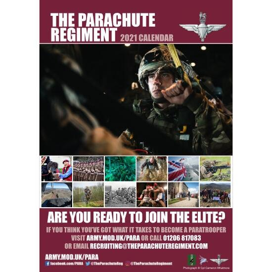 2021 Official Parachute Regiment Calendar