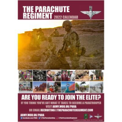 2022 Official Parachute Regiment Calendar