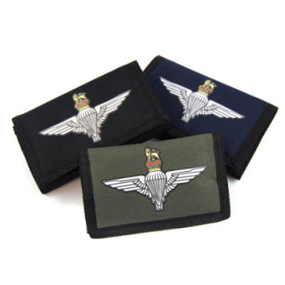 Parachute Regiment Cloth Wallet
