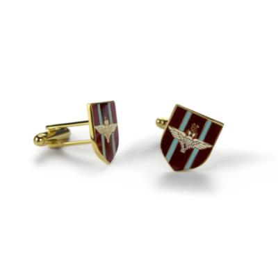 Para Shield Cufflinks (Enamel Badge)